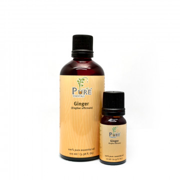 100% Pure Essential Oil (Ginger)