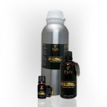 Certified Organic Pure Essential Oil (Ginger)